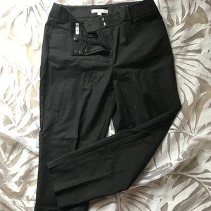 LOFT Black Tapered Trousers